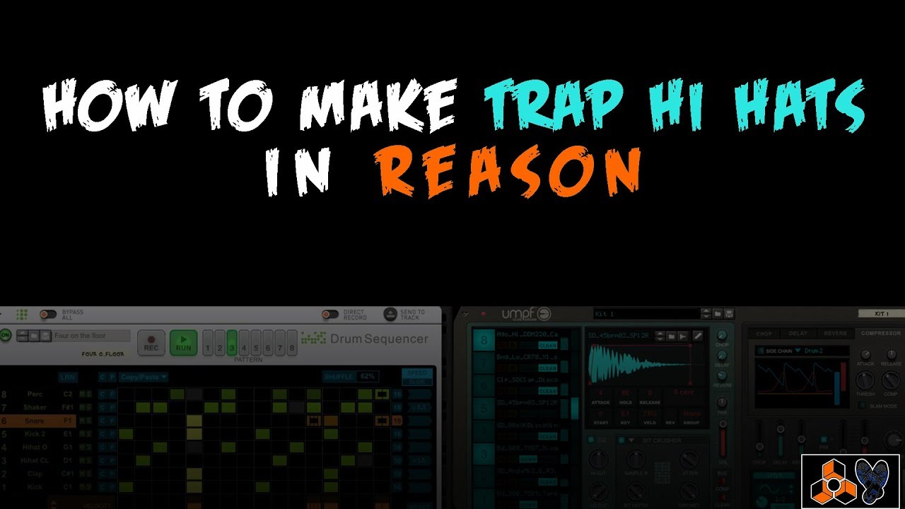 How to Make Trap Drums in Reason 10