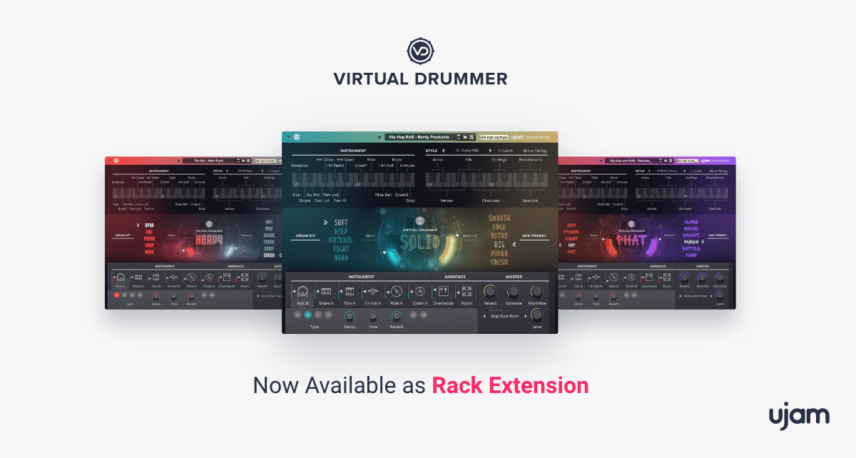 Go A-List with Virtual Drummer