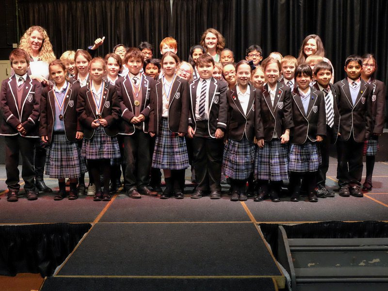 Crosfields class of 2018