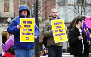 Health Care Protesters