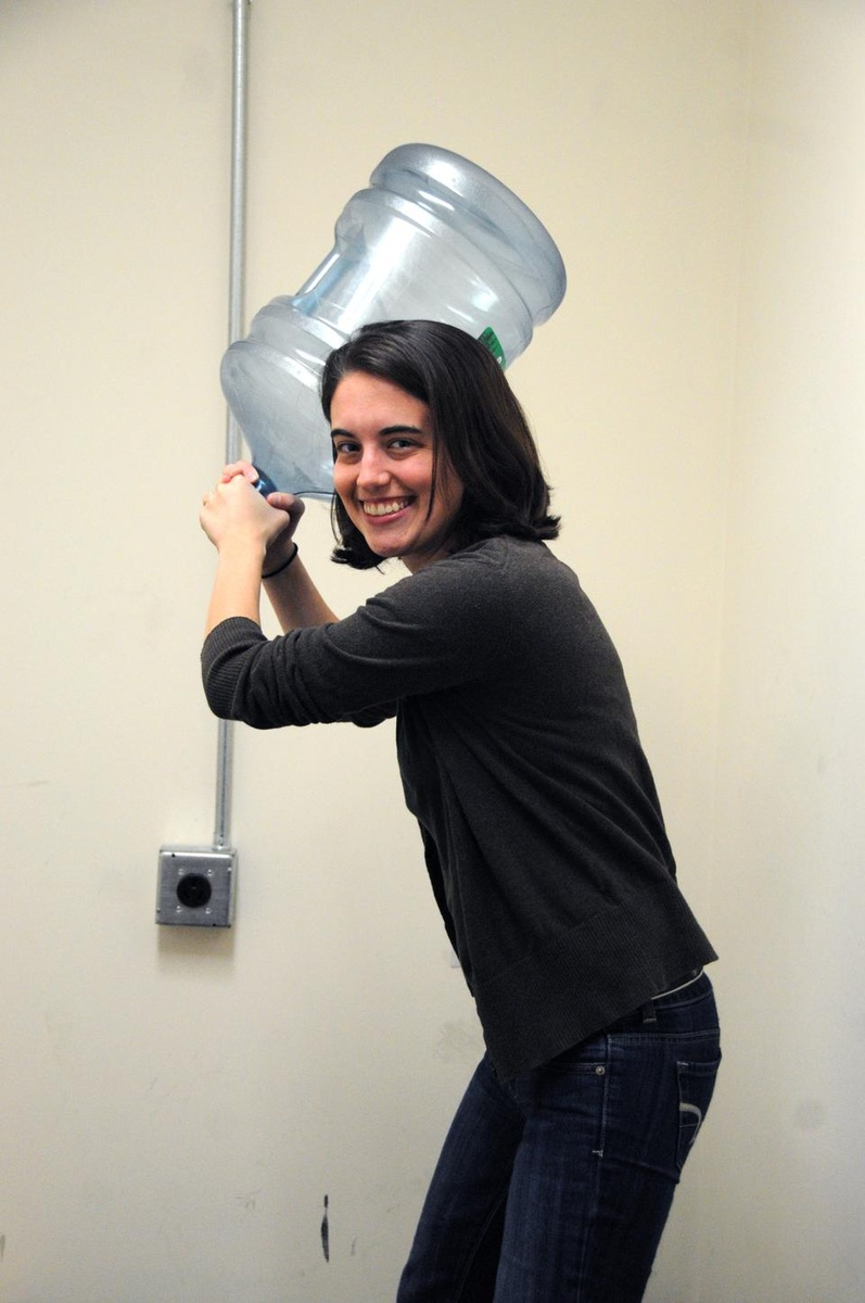 Kate Leist around the watercooler