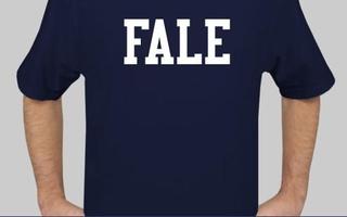 A Sampling of Harvard-Yale Shirts
