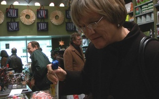 Holiday Shopping with President Faust