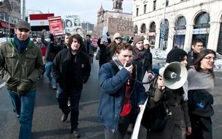 Cambridge Protest for Egypt