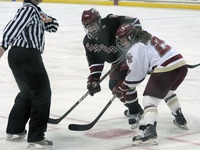 Beanpot Hockey - B.C. Eagles edge out Crimson