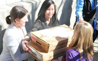 Harvard Admissions Letters Loaded onto Mailing Trucks