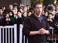 Mark Zuckerberg Visits Harvard