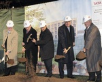 Breaking Ground for the HBS Tata Center