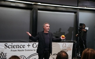 Ferran Adrià speaks at Science and Cooking