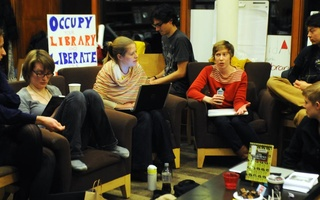 Occupy Lamont holds Think Tank Discussions