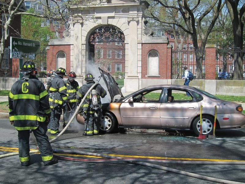 Car Fire Incident