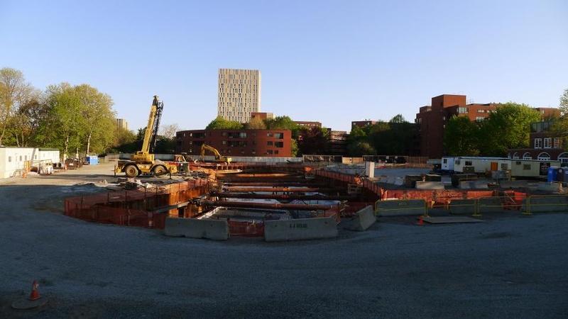 Tata Hall Construction