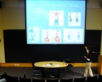 Fitness Discussion during Wintersession, Fong Auditorium