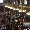 Harvard Freshmen Cheer Dining Hall Workers Who Came To Work Despite Dangers