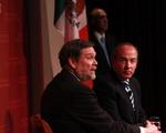 President Calderon at the JFK Forum
