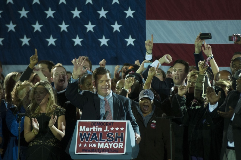 Walsh Wins Mayoral Election