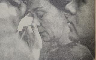 Mourner in Memorial Church
