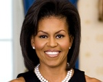 Michelle Obama encouraged students to apply for federal financial aid.