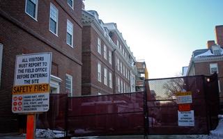Leverett House Construction