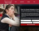 Harvard Not Fair