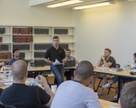 Logan Leslie '16 Speaks to the Warrior-Scholar Project