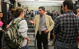 Khurana meets with students at SOCH