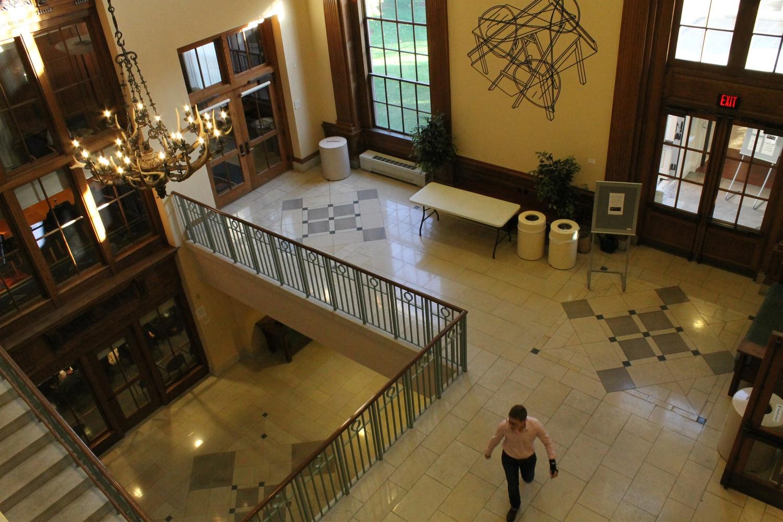 Barker Center Cafe Re-Opens