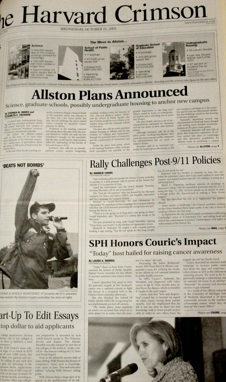 Allston Announcement