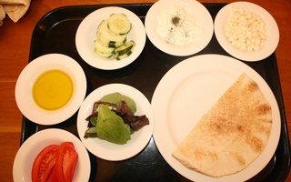 Dining Delights: Tzatziki Pita