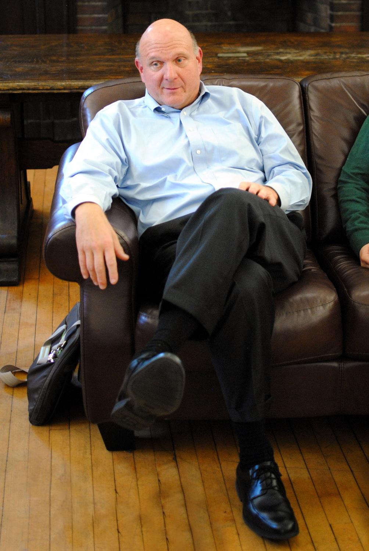 Steve Ballmer Gives Back