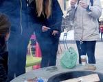 Fire Pits at Harvard Skate