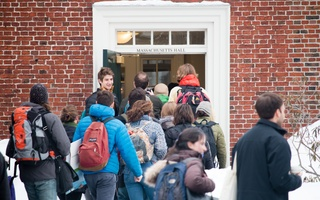 Divest Harvard Storms Mass Hall