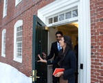 UC Meets With President Faust