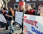 2011 Protest Against ROTC Reinstatement