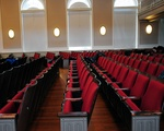 Audience Seats Used As Study Spaces
