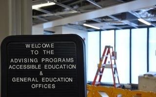 Advising Programs Office Under Construction