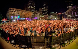Boston Calling crowd