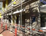Construction near HUHS