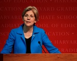Senator Elizabeth Warren Speaks at Ed School