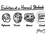 The Evolution of a Harvard Student