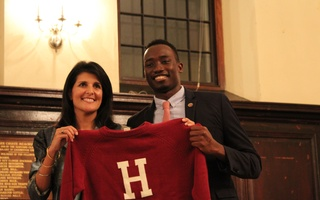 Nikki Haley Receives Harvard Foundation Honor