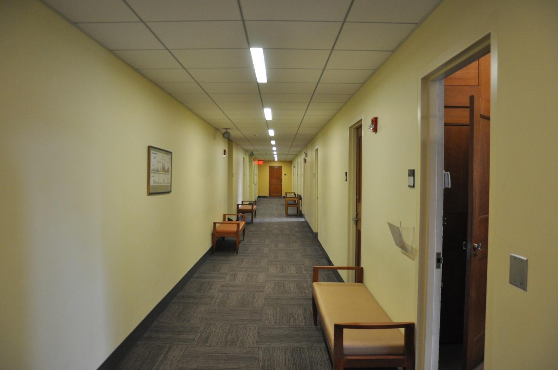 Hallway in Littauer