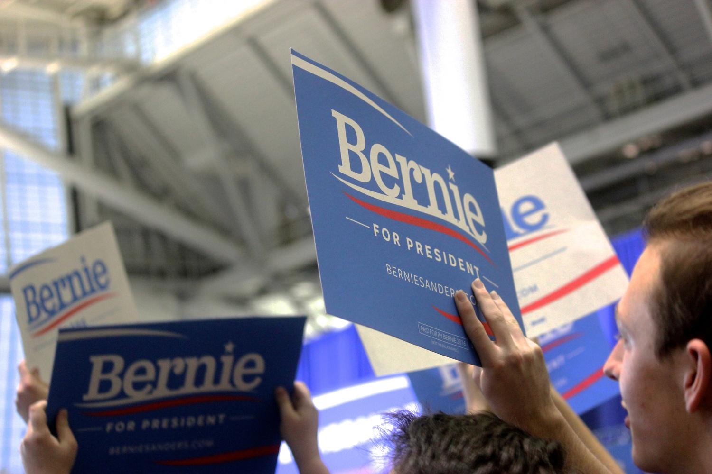 Supporting Bernie Sanders