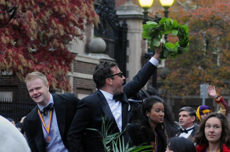 Jimmy Fallon on Parade
