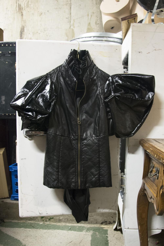 HRDC Lady Gaga-Style Leather Jacket Prop