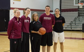 Kathy and Coaches