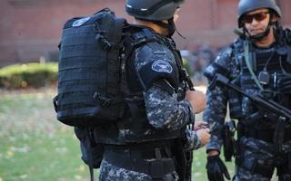 Special Response Team at Sever