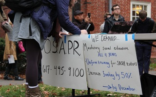 Students Rally Against Sexual Assault