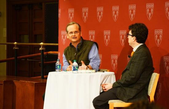 Ex-Presidential Candidate Lessig Speaks