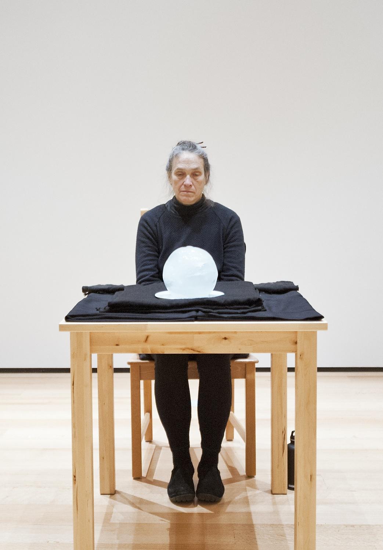 Marilyn Arsem at the MFA